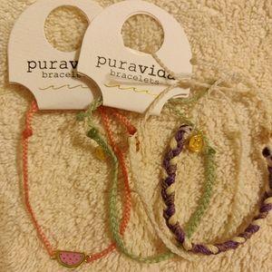 Pura Vida Set of 4 Bracelets